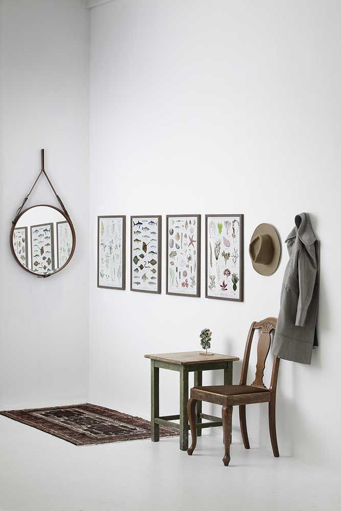Ziemlich Großer Weißer Schattenkastenrahmen Galerie - Badspiegel ...
