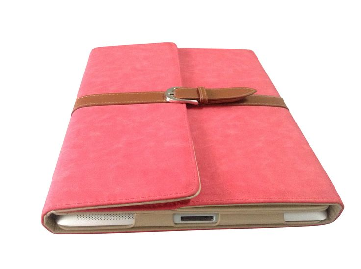 Pink Leather case for your nocatabs, available in many colours