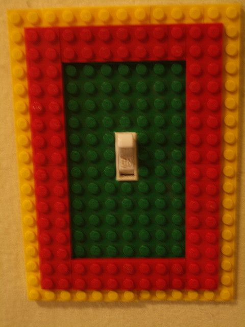 Lego Light Switch By Rick Ricks, Via Flickr