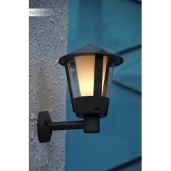 Lutec HORN outdoor wall light anthracite, 1-light source