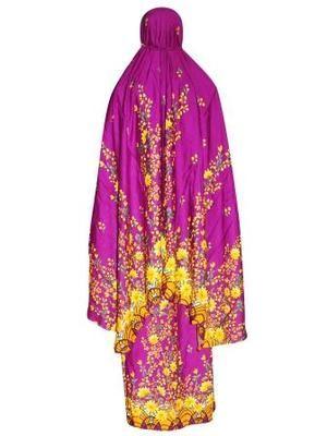 Mukena Batik Santung Motif Flower
