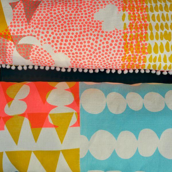Hand printed textiles by Jonnaxkangan