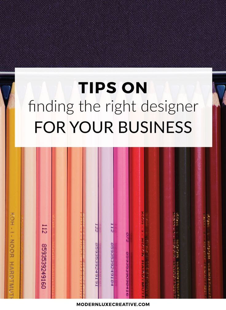 Tips on Finding the Right Designer for Your Business