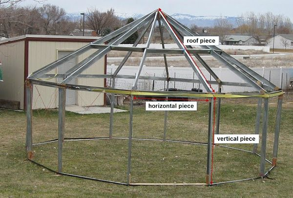 metal stud construction | Steel stud yurt construction?
