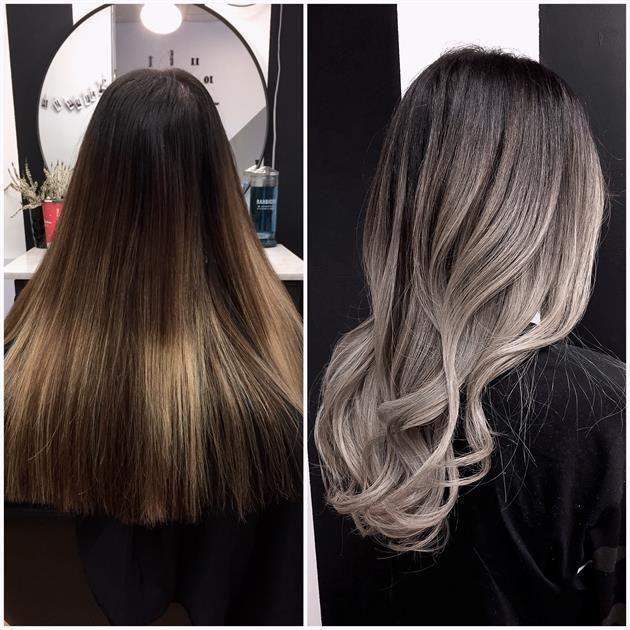 Hair Melting Color Technique Pictures