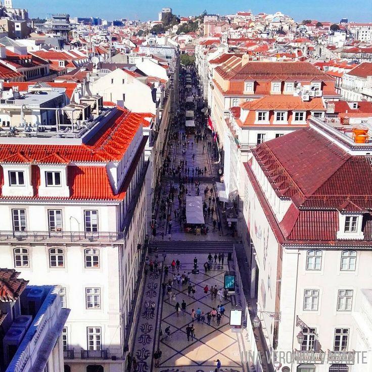 Cosa fare a Lisbona? Tra le 15 cose, sicuramente salire sull'Arco da Rua Augusta e godersi il paesaggio!