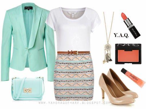 Y. A. Q. - Blog de moda, inspiración y tendencias: [Y ahora qué me pongo con] Una polera blanca