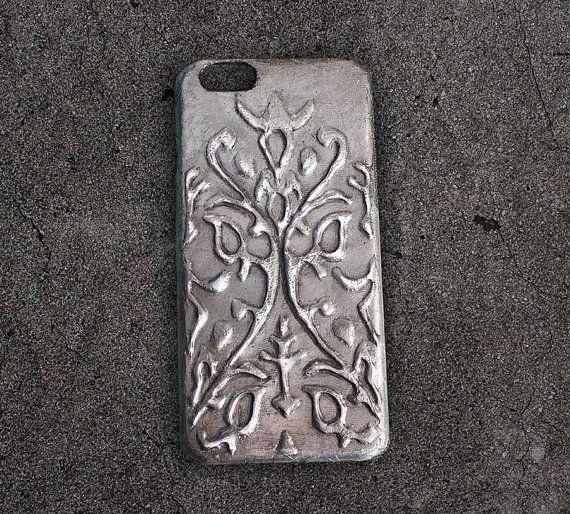 metal phone case antique