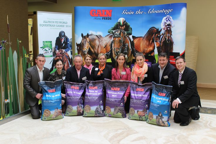 Equine feed brand packaging for 22 Glanbia Gain Horse Feeds products. www.akgraphics.ie