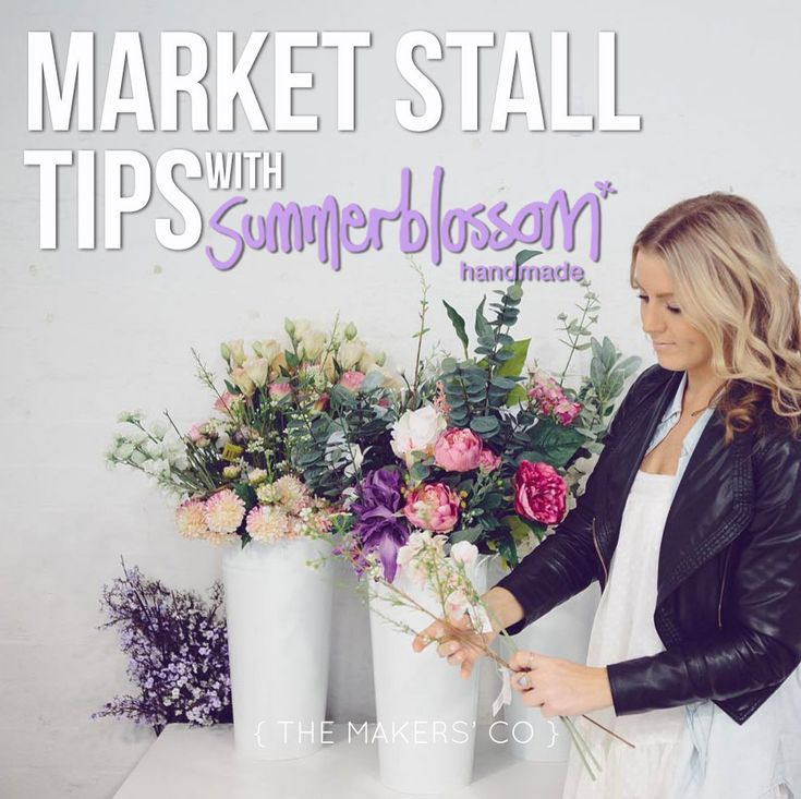 If you're selling your products via markets in your local area or even travelling interstate for a market, I bet you're constantly looking for new tips and tricks to improve your market stall, especially if you're new to the game!
