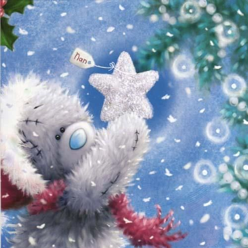 Image detail for -Nan Christmas Me to You Bear Card (X77TS045) : Me to You Online - The ...
