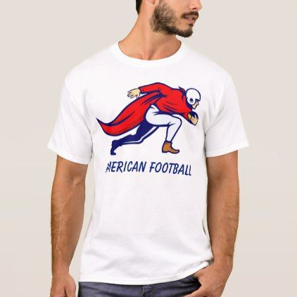 American Football 0003 T-Shirt  $19.60  by NOE_Art  - cyo customize personalize diy idea