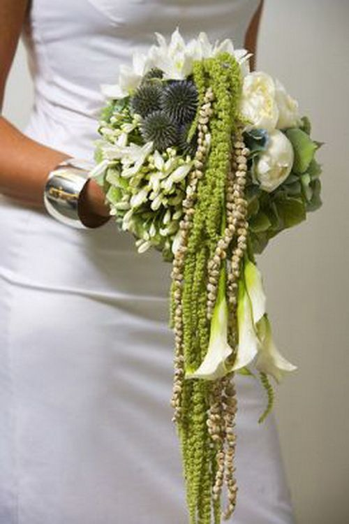 Cascading Wedding Bouquet www.tablescapesbydesign.com https://www.facebook.com/pages/Tablescapes-By-Design/129811416695