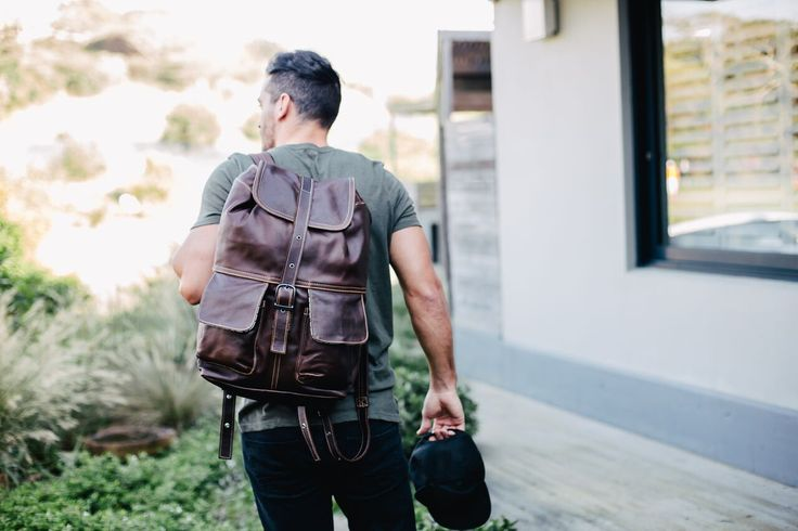 Mason Backpack - Tobacco Leather