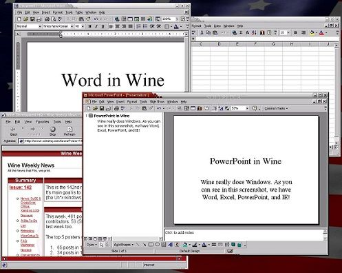 "Wine 1.8.7 Latest Version 2017 Free Download Wine 1.8.7 stands for ""Wine is not an emulator, open"" and it is a source that openly associated with Windows API and can help you run DOS an…"