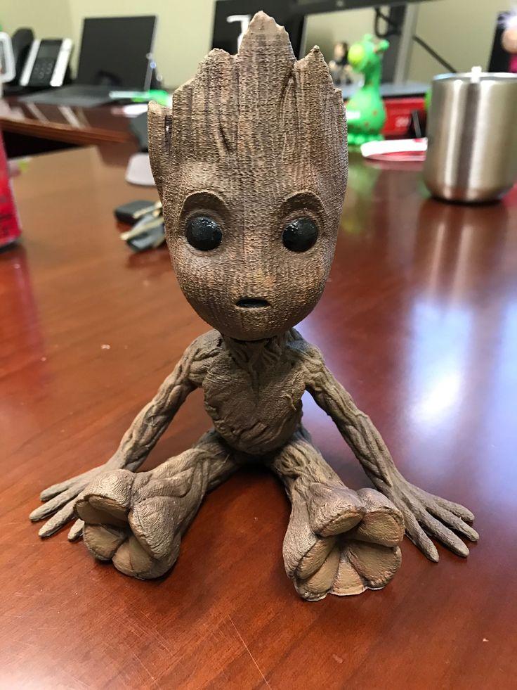 Baby Groot 3dprinted Baby Groot Groot Marvel Groot