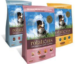 Modern Dog magazine is giving away two rotational packs of Rotations Super Premium Dog Food