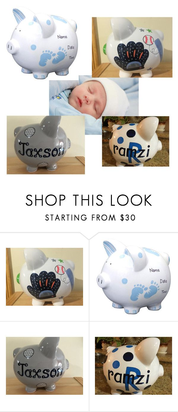 """""""Baby piggy banks"""" by ashcrazy on Polyvore"""