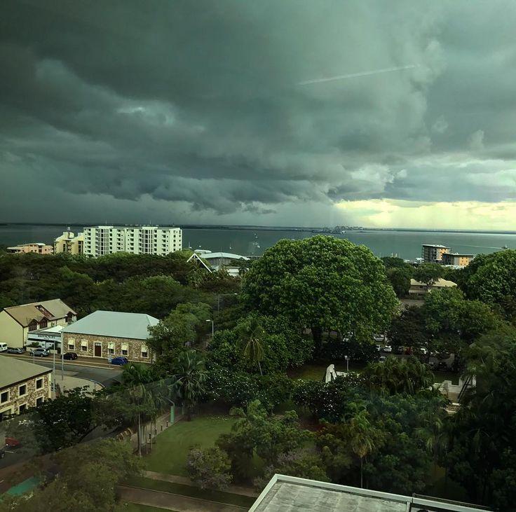 Moody Wet Season Sky - Darwin Wet Season
