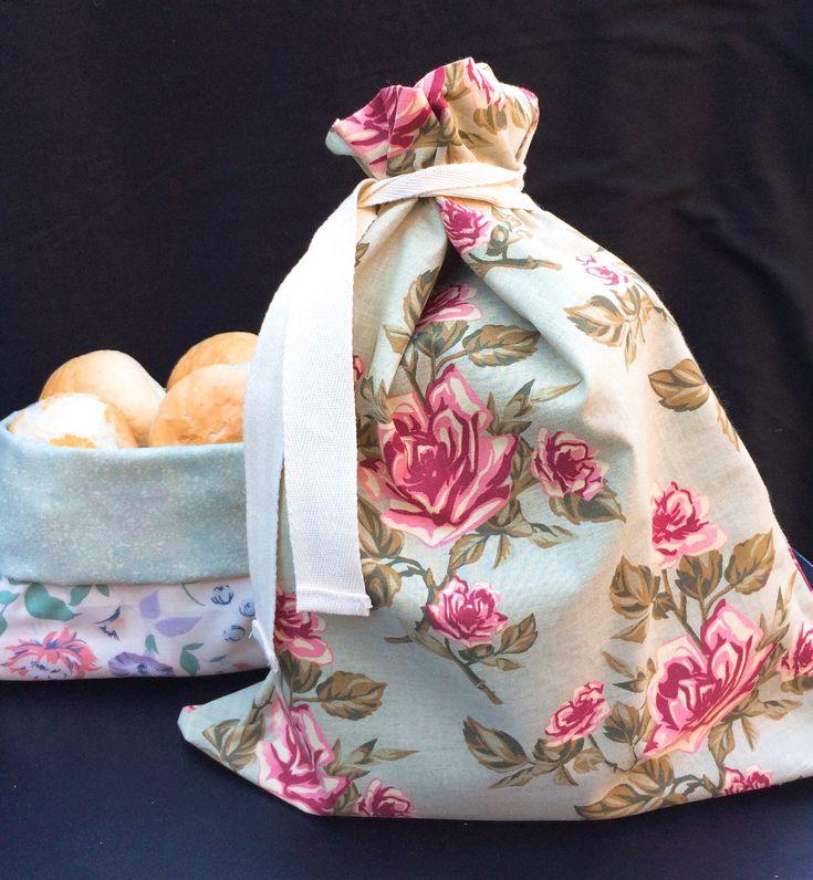 Excited to share the latest addition to my #etsy shop: Handmade Bread Bag, Bread Basket, Produce Bag, Zero Waste, Reusable, Eco #housewares #kitchen #potatobag #foodbag #purecotton #biodegradable #shoppingbag #producebag #handmade