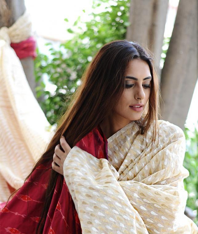 Buy Benaras Heritage by Shah Narayan Das Benarasi Handwoven Fabric in Cotton, Silk & Georgette Online at Jaypore.com