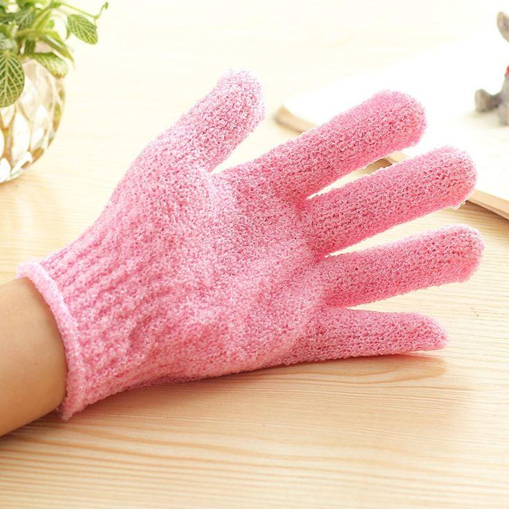 loofa glove