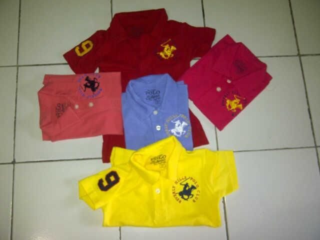 Kaos Polo Shirt Kids Polo Ralph Lauren