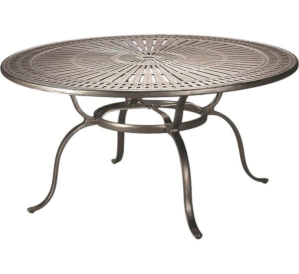 Banchetto Metal Dining Table With Images Metal Dining Table