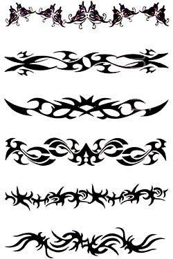 tribal armband tattoos | Tattoo Gallery Designs Tribal Armband