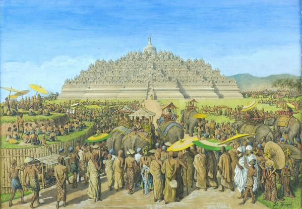 have you been here?! don't think! Borobudur Temple in Central Java, Yogyakarta, Indonesia http://ow.ly/Lwr3c