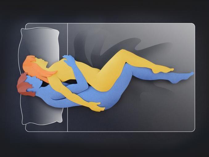 10 posiciones sexuales ardientes