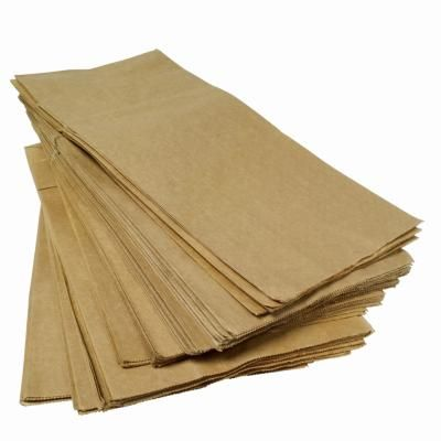 How to Cover a Floor With Brown Paper Bags