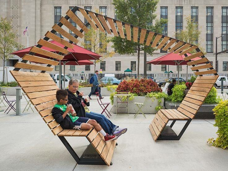 bench & pagora  Urban FurnitureStreet ...