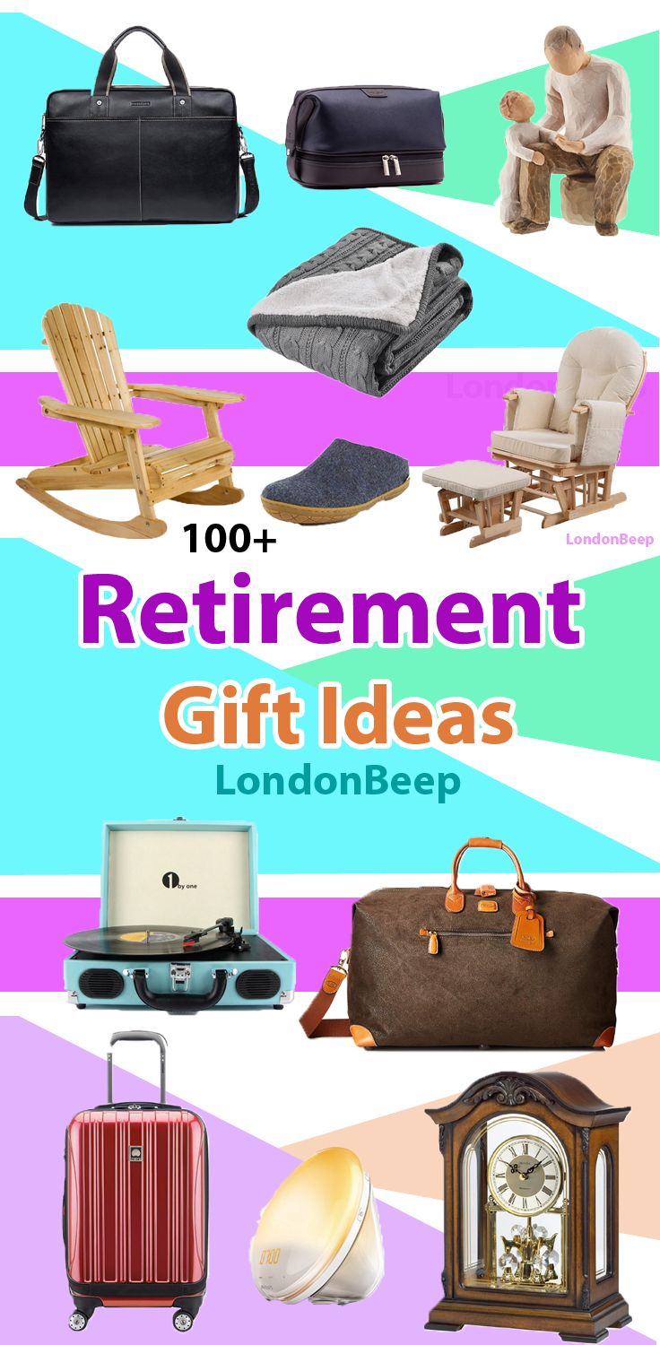 retirement gifts for dad uk