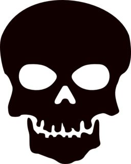 skull clipart for stencils clipart panda free clipart images - Halloween Skeleton Head