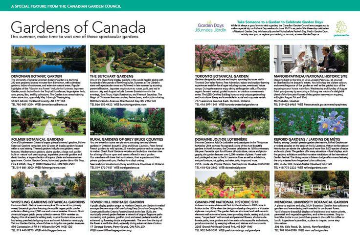 Gardens of Canada