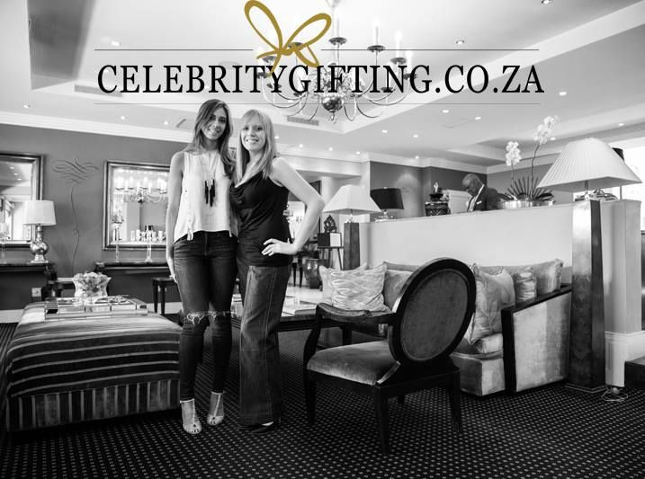 www.celebritygifting.co.za - Owner and founder of #celebritygifting, Taryn Treisman, and Lauren from #socialbutterfly.