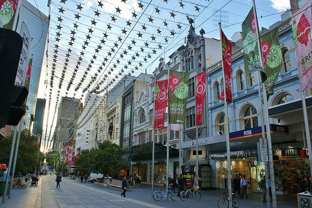 Bourke Street, Melbourne, Australia - one of my favourite places :)