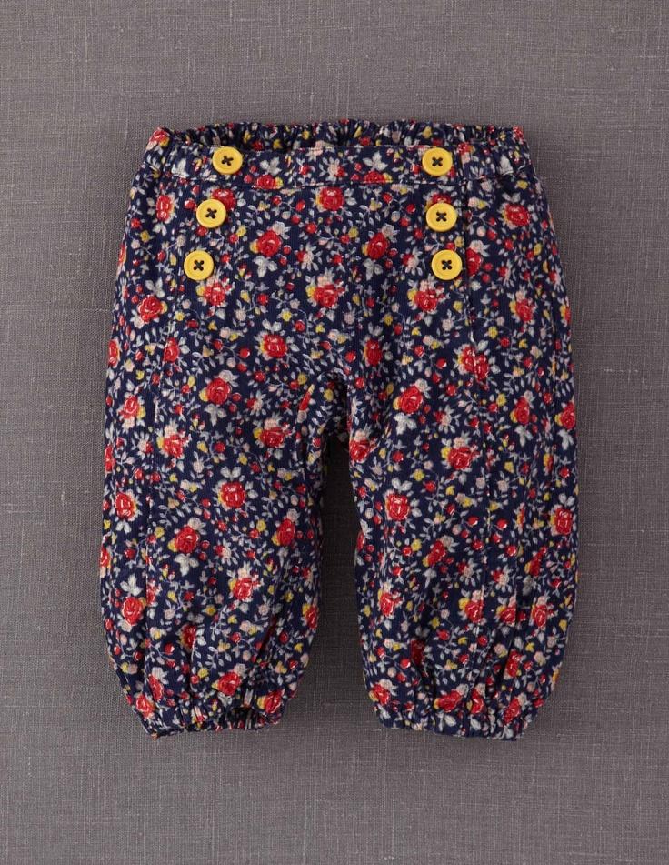 Boden Pretty Cord Trousers