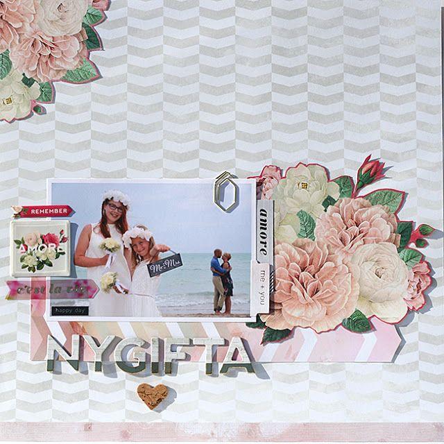 mitt kreativa kaos: Bröllop .:. med Pink Paislee C'est La Vie