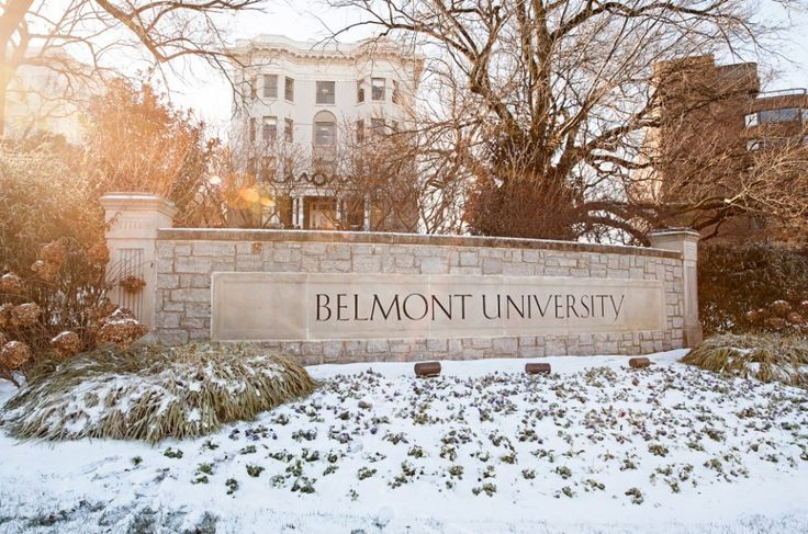 Belmont College becomes Belmont University.