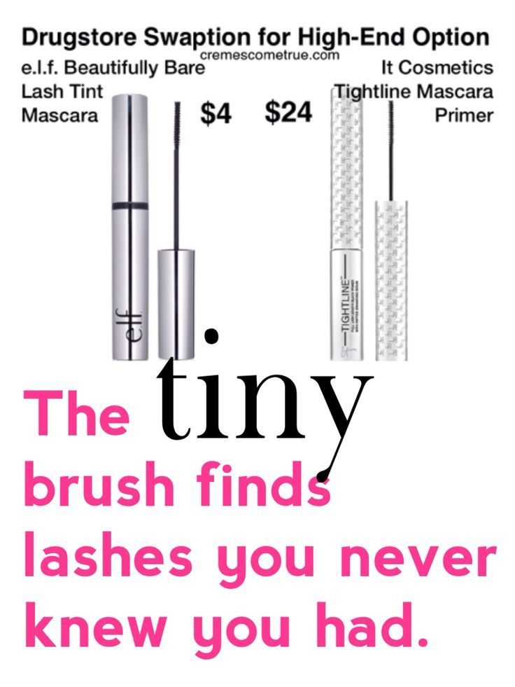 Drugstore Dupes For It Cosmetics Tightline Mascara Primer