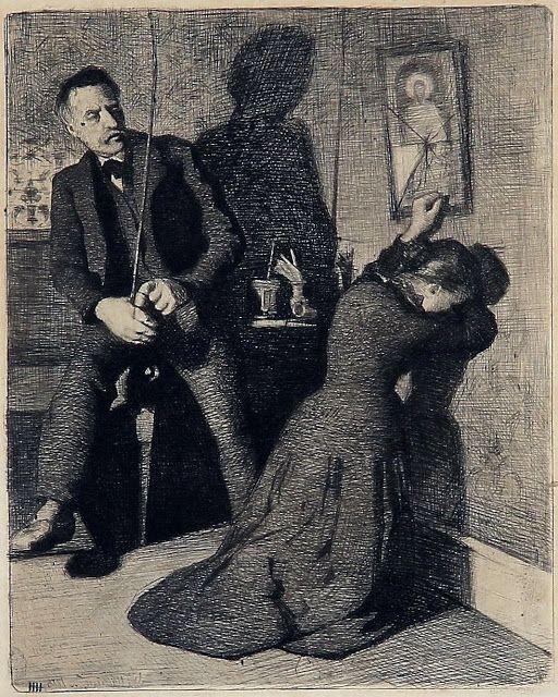 J.F. Willumsen - 1886 - Ægteskab