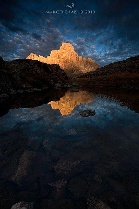 The Lamp Dolomiti Pale di San Martino   #TuscanyAgriturismoGiratola