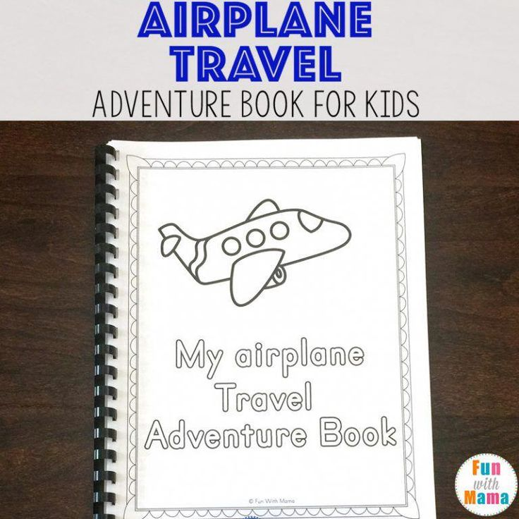 Travel Adventure Airplane Activity Book For Kids – Fun with Mama #TravelTipsAirp…