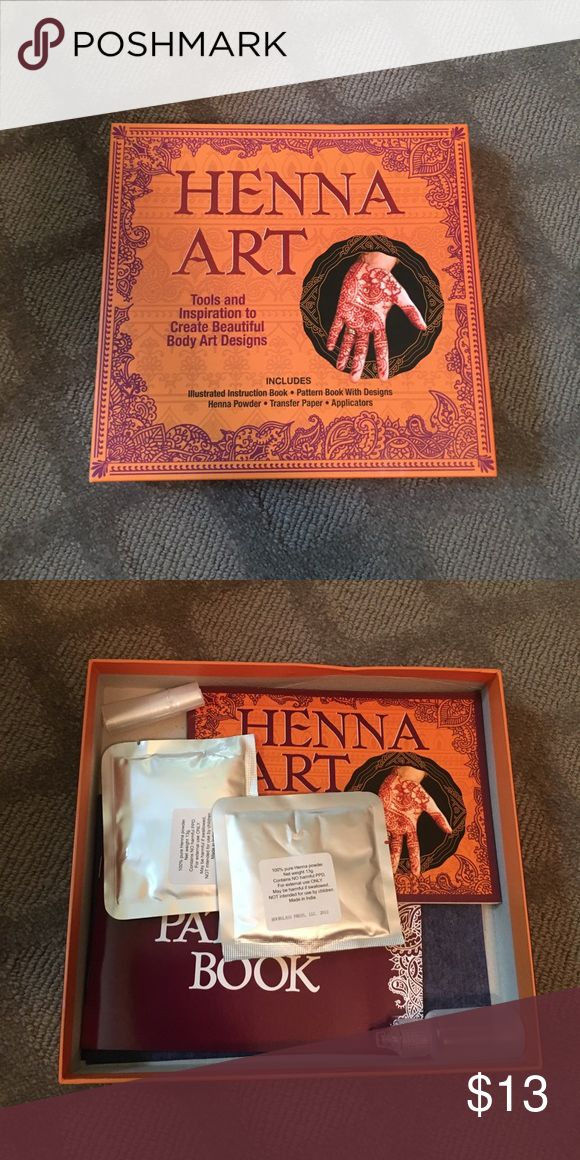Never Used at home Henna tattoo kit Never Used at home Henna tattoo kit Other