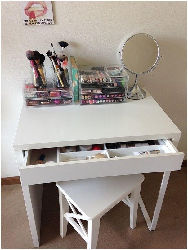 Incredible Diy Makeup Vanity Table Ideas That Will Grab Your Attention Schminktisch Ideen Frisiertisch Beauty Raum