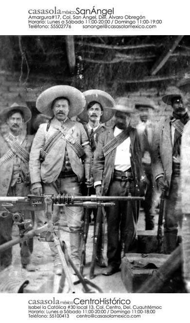 Coronel Francisco Villa al inicio de la Revolución Maderista. Ciudad Juárez, 1911. #RevoluciónMexicana  #HistoriaCasasola