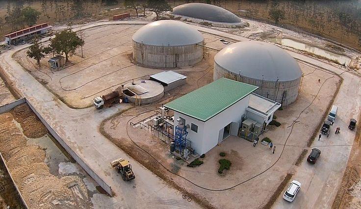 Il nostro impianto da 1MW in Tailandia! Our 1MW plant in Thailand