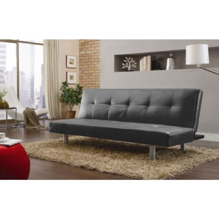 Sofa Table Modern Faux Leather Wooden Frame Sofa Bed Buy Sofa Beds MyDeal